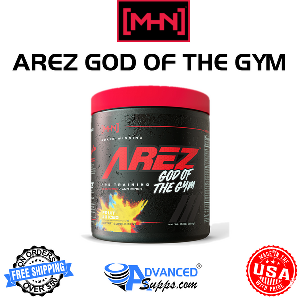 AREZ: GOD OF THE GYM [Now Under the MHN Brand!]