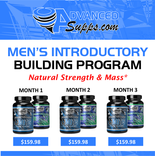 Men's Introductory 3-Month Building Program! [Months priced & available individually!]