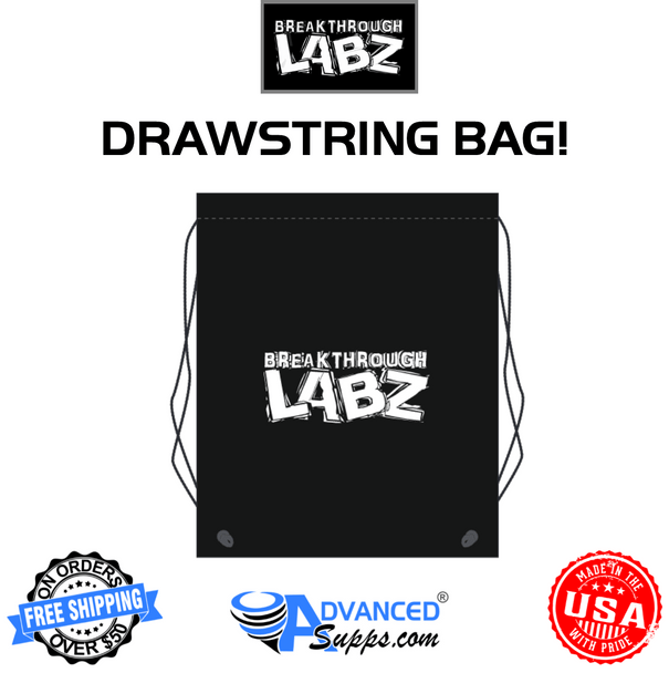 Breakthrough Labz drawstring bag polyester cinch up backpack