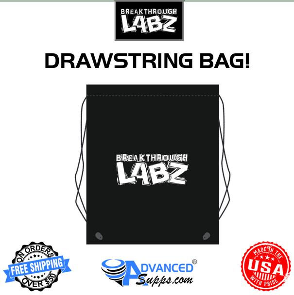 Breakthrough Labz drawstring bag polyester cinch up backpack
