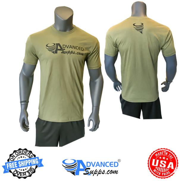 Military, olive, green, t-shirt, shirt, advanced, apparel