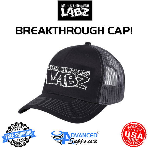 Breakthrough labz hat, Mesh Snap Back Trucker Cap