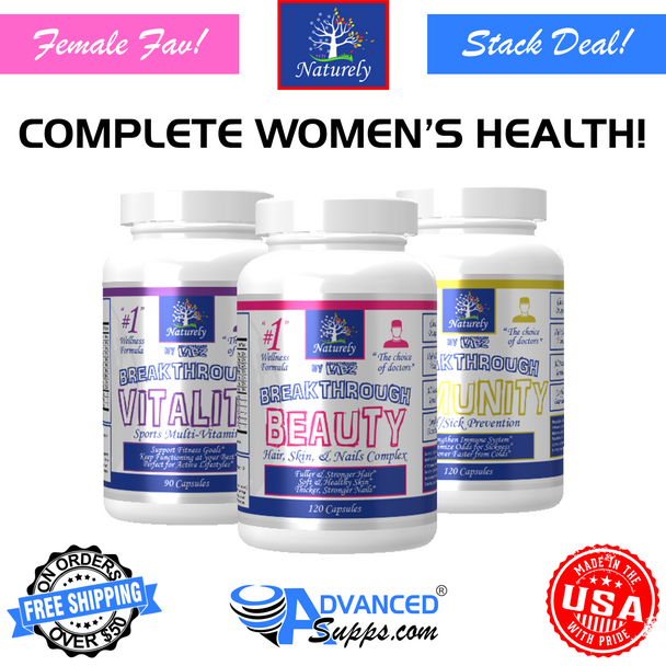 The Complete Women's Health Stack! (BEAUTY, VITALITY, & IMMUNITY)