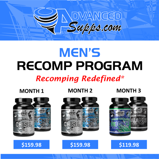 Men's 3-Month Recomp Program! [Months priced & available individually!]