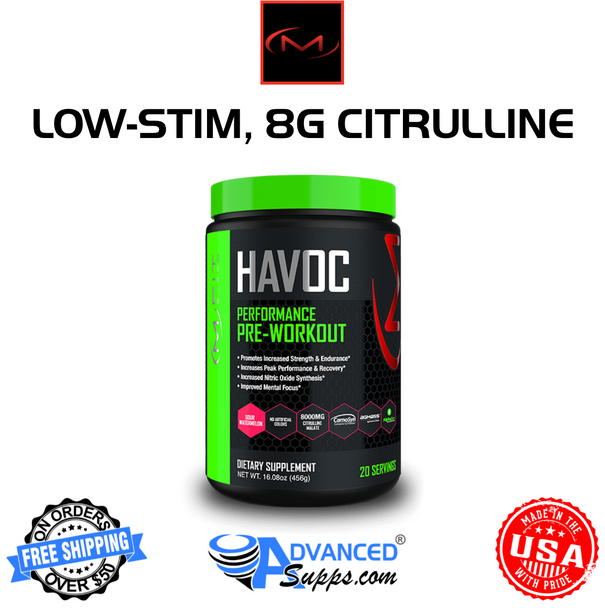 HAVOC Pre-Workout by M-Fit Supps