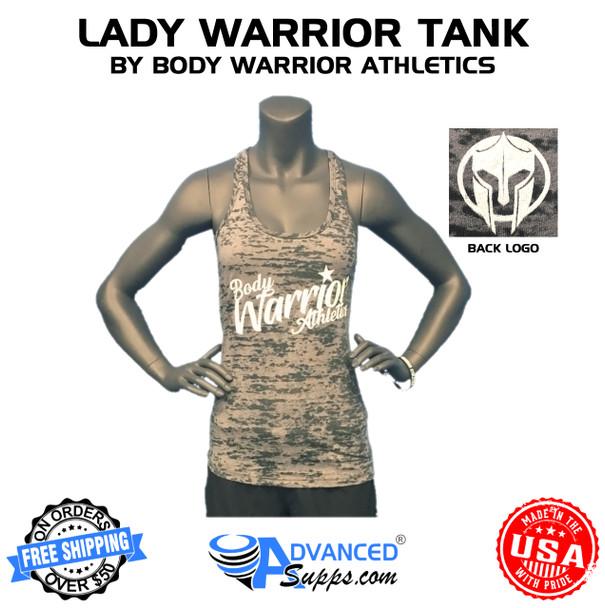 body warrior, grey, tank, women, female