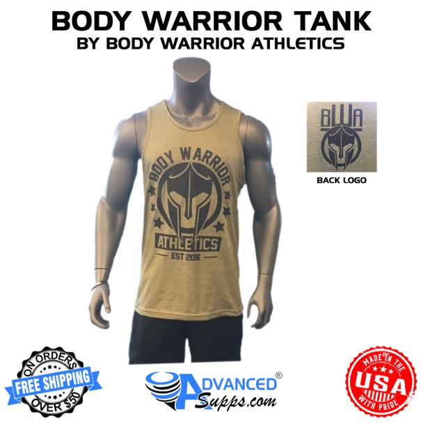 Body Warrior Tank: Olive Green