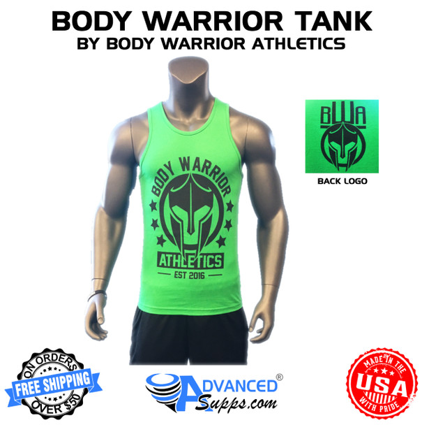 green body warrior tank top