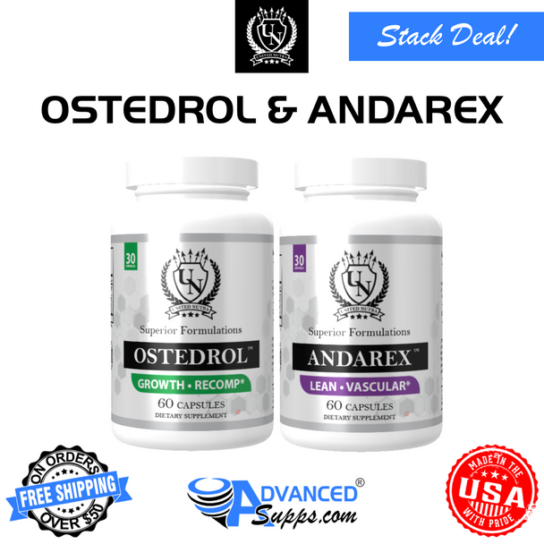 OSTEDROL™ & ANDAREX™ Muscle Definition Stack!