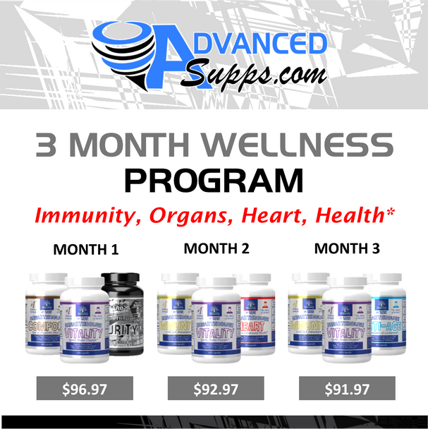 Wellness 3-Month Program! [Months priced & available individually!]