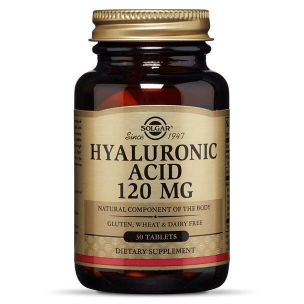 HYALURONIC ACID 120 MG TABLETS [50% off with code 'CLEARANCE']
