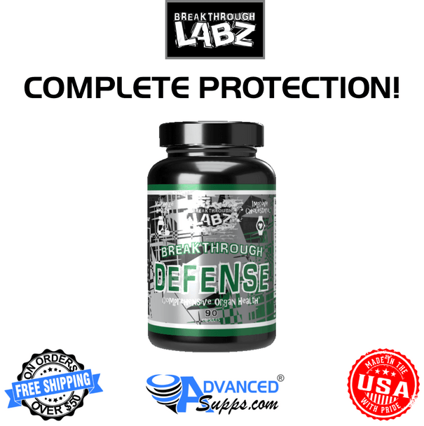 Breakthrough Labz Defense, comprehensive organ health, complete protection
