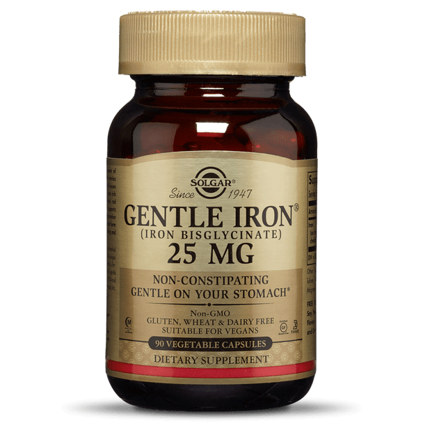 GENTLE IRON® VEGETABLE CAPSULES* [50% off with code 'CLEARANCE']