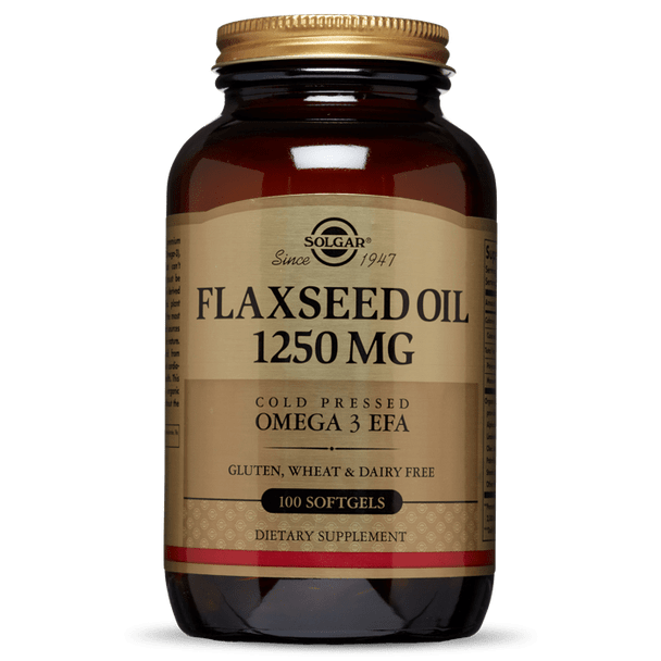 FLAXSEED OIL 1250 MG SOFTGELS [50% off with code 'CLEARANCE']