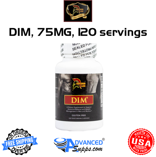 Centurion Labz DIM, 75mg, 120 Capsules (50% OFF with Code 'CLEARANCE')