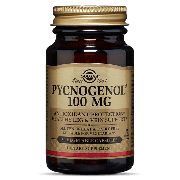 PYCNOGENOL® 100 MG VEGETABLE CAPSULES