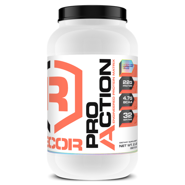 PRO ACTION 2LB: Birthday Cake, Exp Date 06/20 (50% OFF with Code 'CLEARANCE')