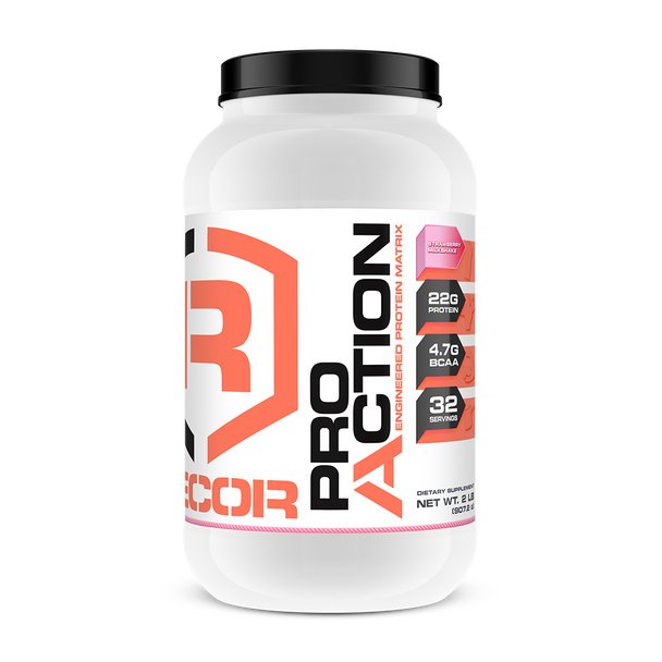 PRO ACTION 2LB: Strawberry, Exp Date 06/20 (50% OFF with Code 'CLEARANCE')