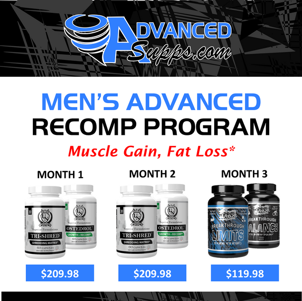 Men's Advanced Recomp 3-Month Program! [Months priced & available individually!]