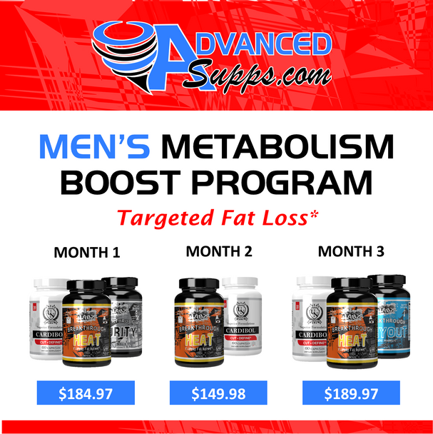 Men's Metabolism Boost 3-Month Program! [Months priced & available individually!]