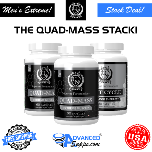 2 QUAD-MASS™ & POST CYCLE STACK