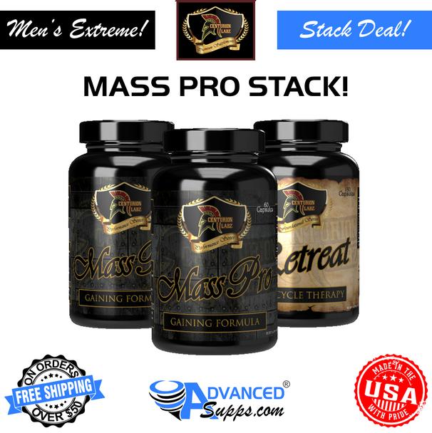 Mass Pro Stack! (2 Centurion Labz Mass Pro & 1 Retreat)