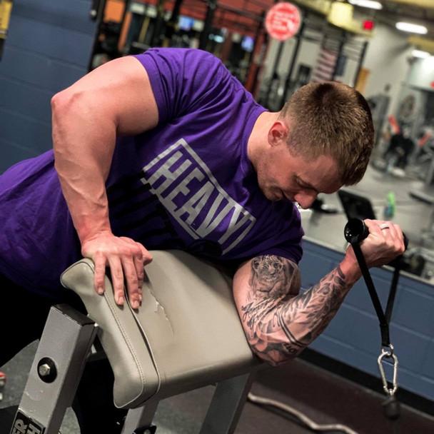 Heavy Hitter T-Shirt, Purple