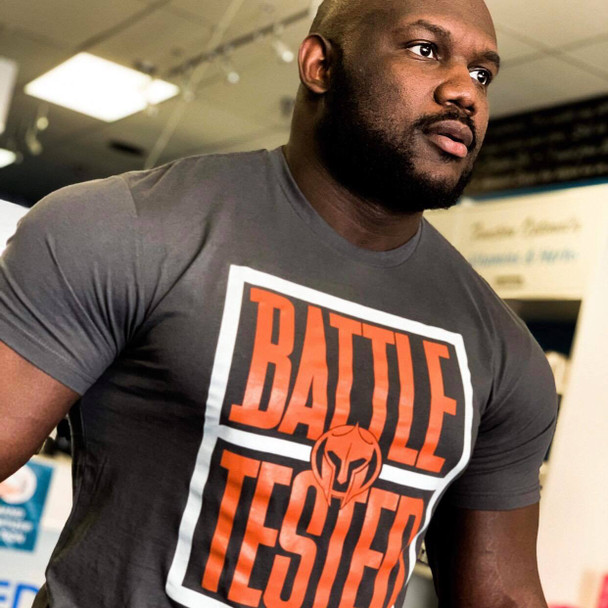 Battle Tested T-Shirt, Charcoal