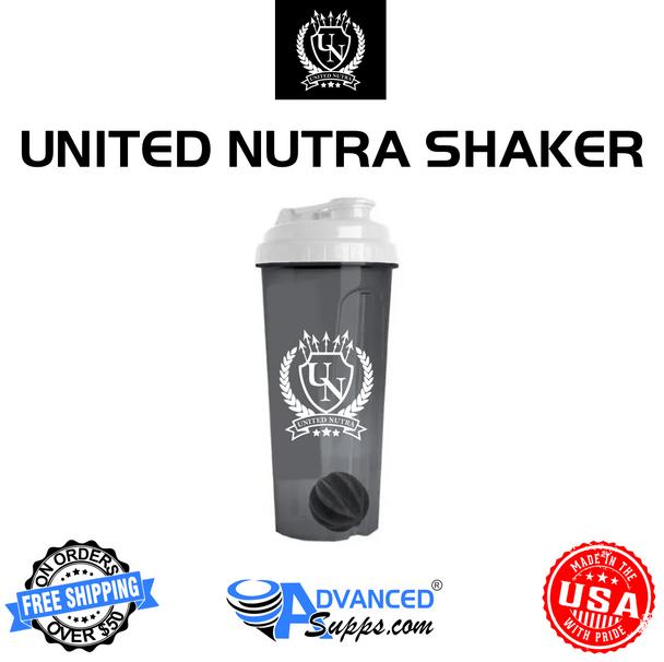 24oz United Nutra Shaker Bottle w/ Mixing Ball