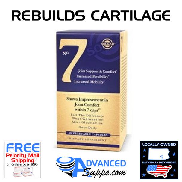 Solgar No. 7 Joint Health Rebuilds Cartilage