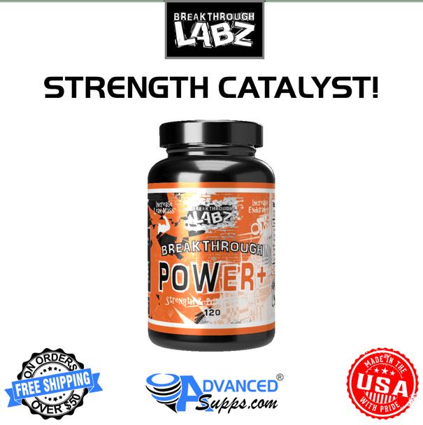 Breakthrough Power+ power plus strength catalyst, creatine formula, test booster, testosterone booster, pre workout enhancement