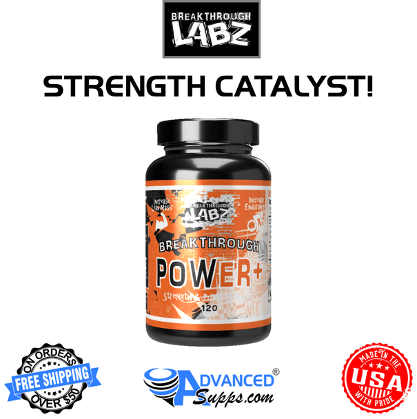 Breakthrough Power+ power plus strength catalyst, creatine formula, test booster, testosterone booster, pre workout enhancement