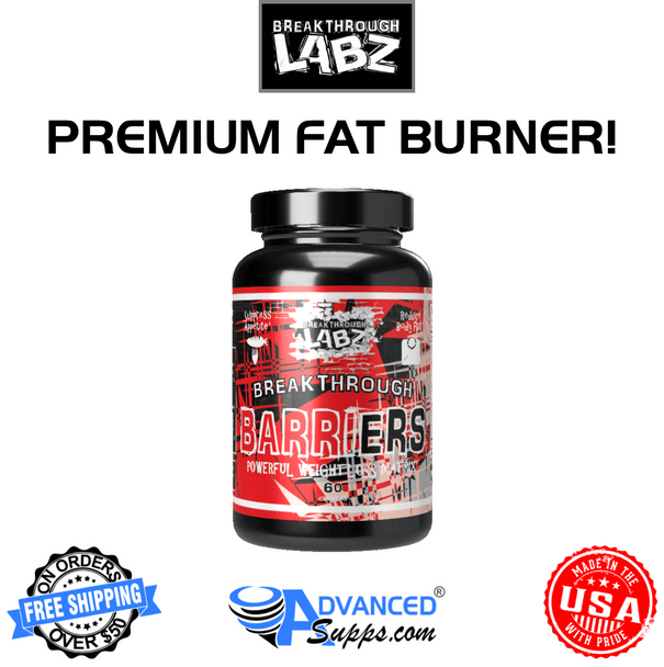Breakthrough Labz Barriers, $59.99, Fat burner, toning, lose weight, appetite suppression
