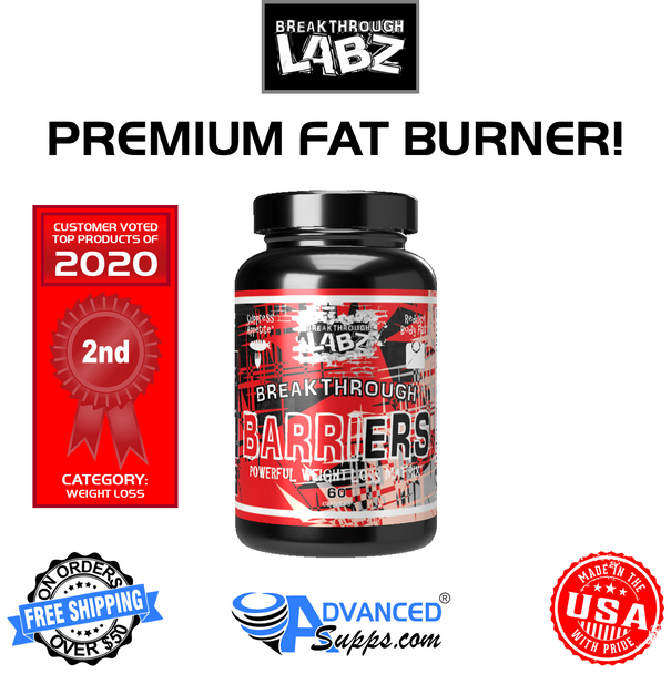 Breakthrough BARRIERS: Premium Fat Burner!*