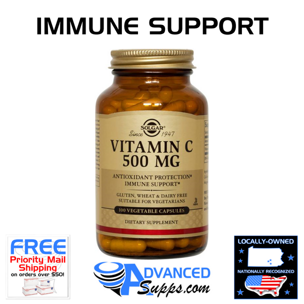 Vitamin C, 500mg (100 capsules) [50% off with code 'CLEARANCE']