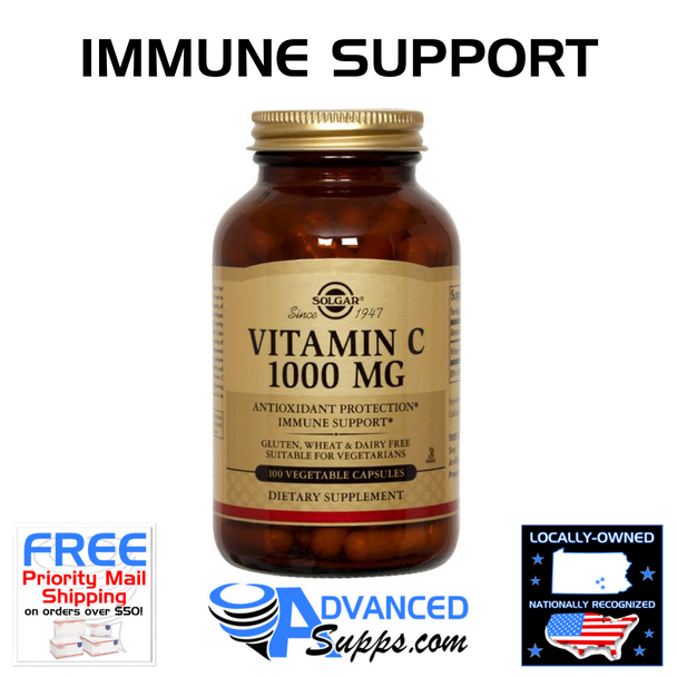 Vitamin C, 1000mg (100 capsules)