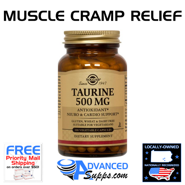 Taurine 500 mg (100 caps) [see REMEDY by Naturely as an alternative]