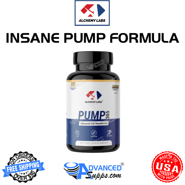 Pump 365 by Alchemy Labs, pump, no2, booster, vasodialator