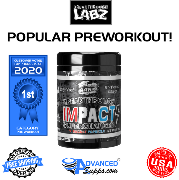 Breakthrough IMPACT SUPERCHARGED: Hard-Hitting Pre-Workout Catalyst*