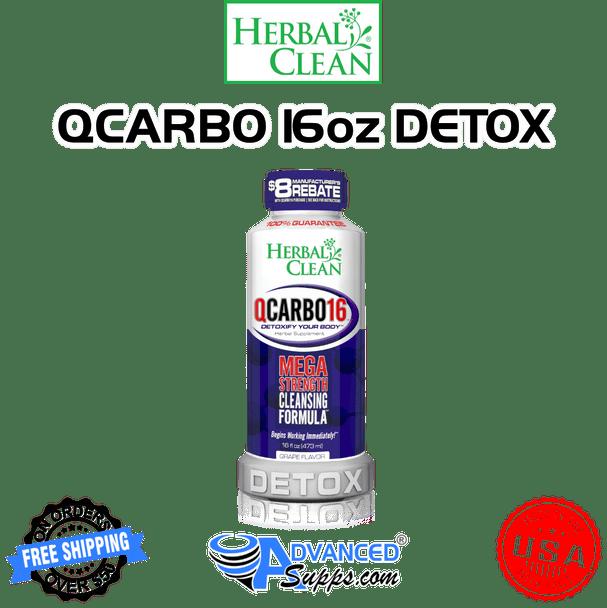 QCarbo: Same-Day Detox Drink, 16 oz.