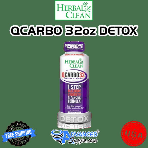 QCarbo: Same-Day Detox Drink, 32 oz.