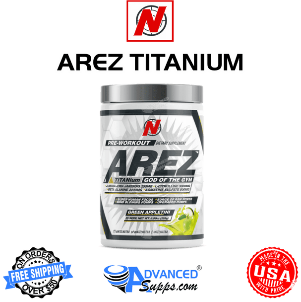 AREZ TITANium: Powerful Stim Pre-Workout