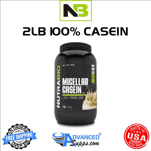 Nutra Bio, 100% casein, 2lb