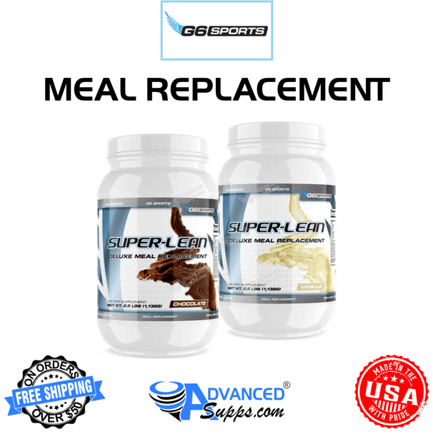 G6 Super-Lean: Deluxe Meal Replacement*