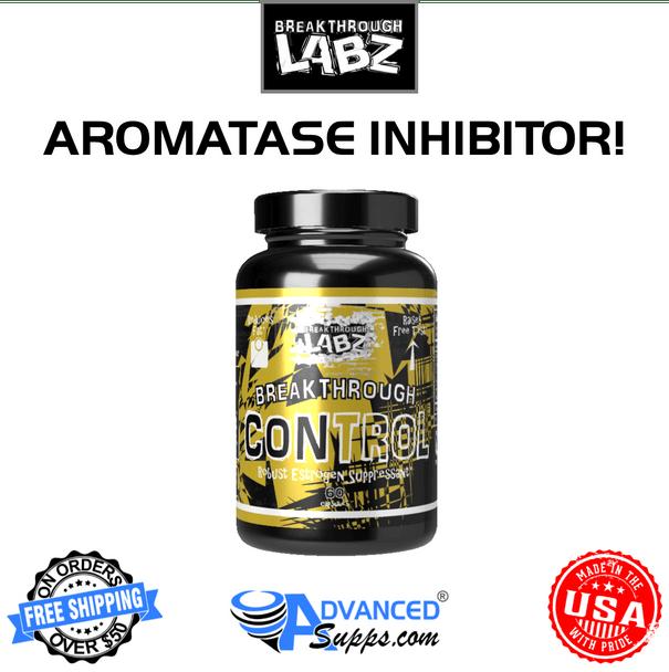 Breakthrough Control, aromatase inhibitor, AI, supression, test boost, estrogen, testosterone