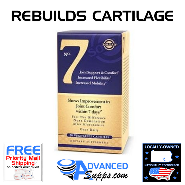 Solgar No. 7 Joint Health Rebuilds Cartilage