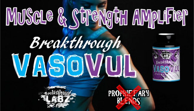 Brand New Muscle & Strength Booster… amplifying muscle hypertrophy, protein synthesis, & follistatin!