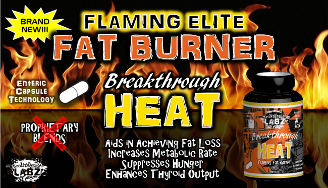 Breakthrough HEAT: Flaming Fat Burner, Appetite Suppressant, & Thyroid Enhancer