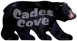 Cades Cove Wholesale Novelty Metal Bear Tag BR-019