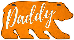 Daddy Orange Wholesale Novelty Metal Bear Tag BR-032